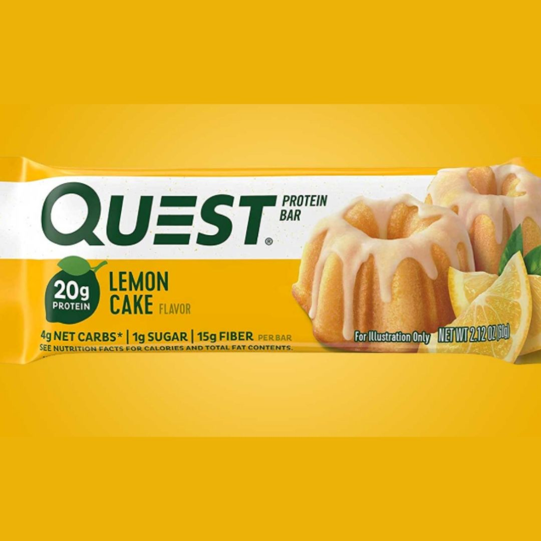 New Lemon Cake Flavored Quest Bar Coming Soon