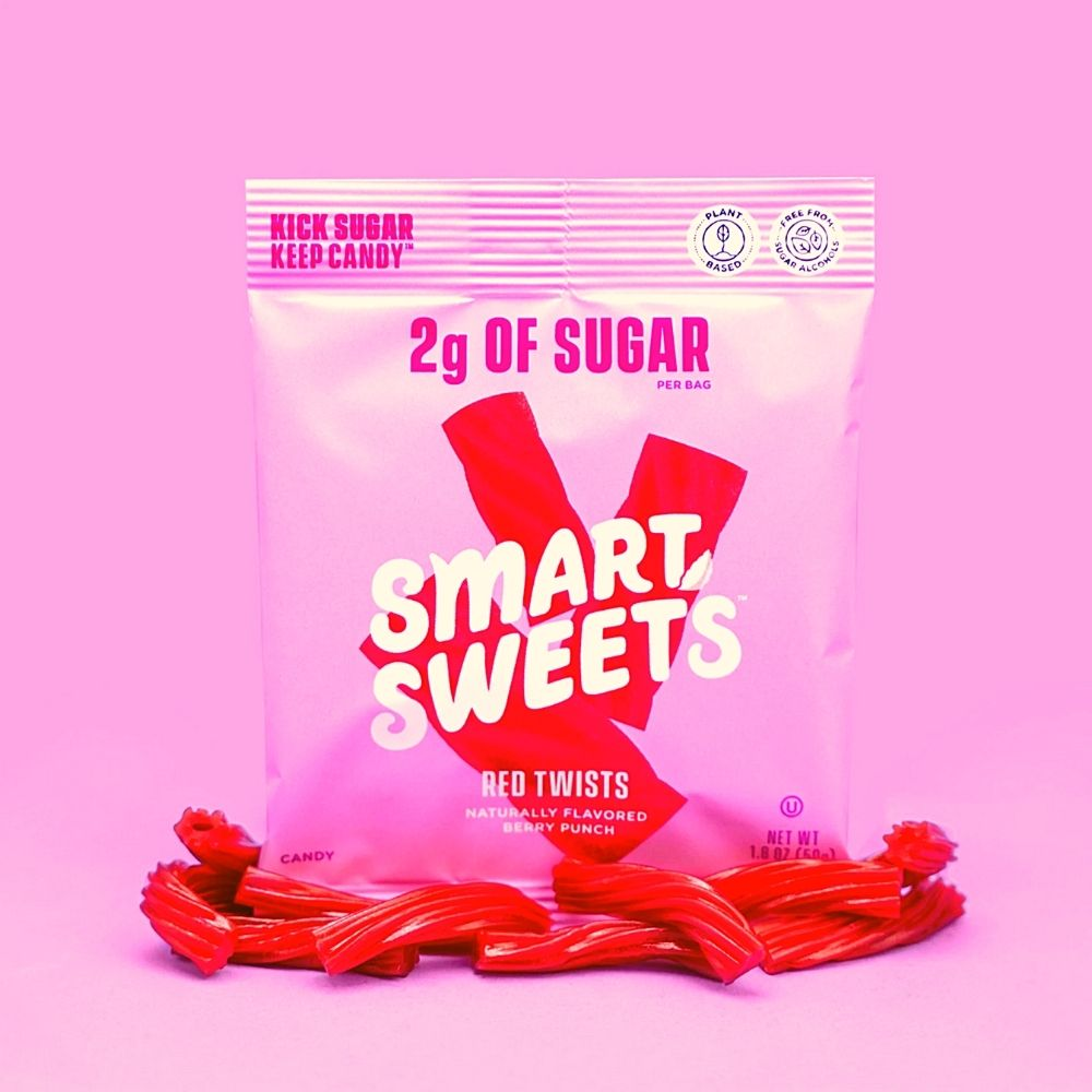 "Smart Sweets New ""Mystery Candy"" Announced as Red Twists Licorice"