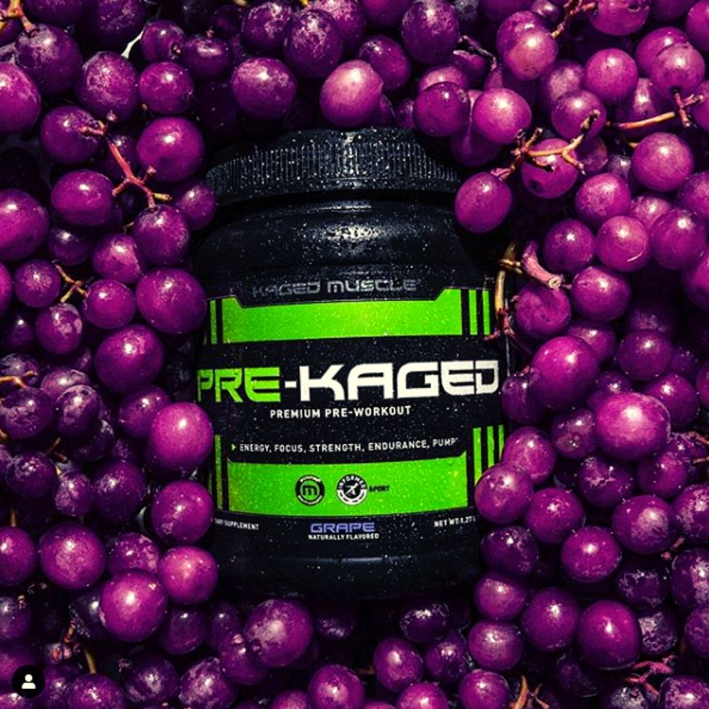 Kaged Muscle Adds New Grape Flavor to their Pre-Kaged Stimulant Pre-Workout