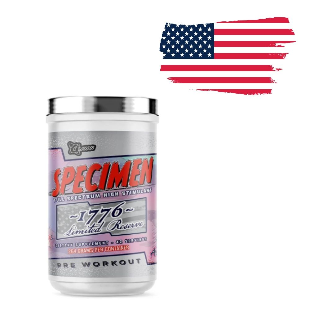 Glaxon Announces New 1776 Limited Edition Version of Specimen Pre-Workout
