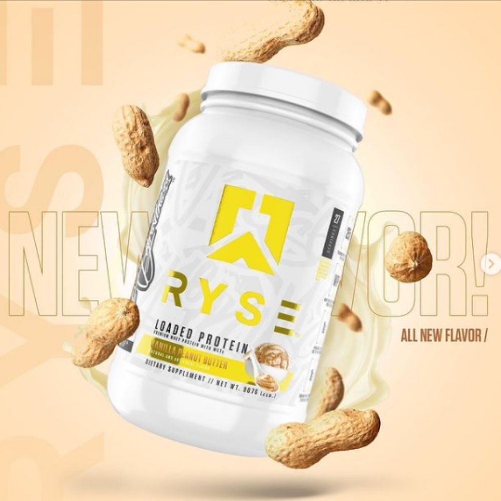 RYSE Drops a New Vanilla Peanut Butter Flavor of RYSE Loaded Protein