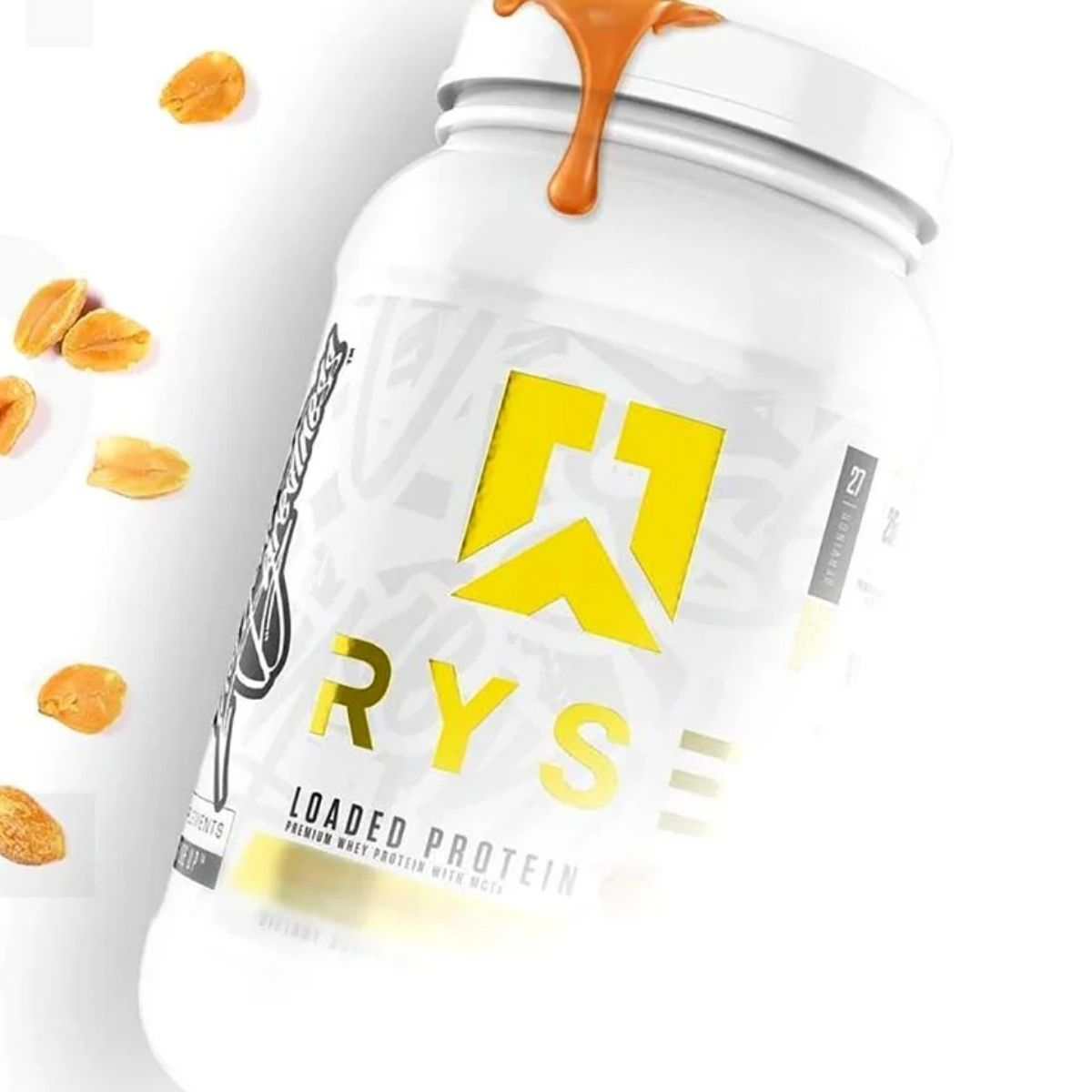 Ryse Loaded Protein Teases a New Flavor Which Looks to be Vanilla Peanut Butter