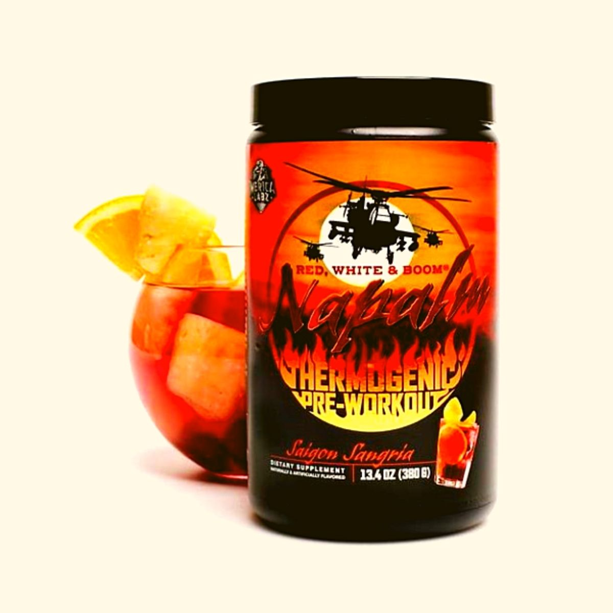Merica Labz New Thermogenic Pre-Workout Gets a New Saigon Sangria Flavor