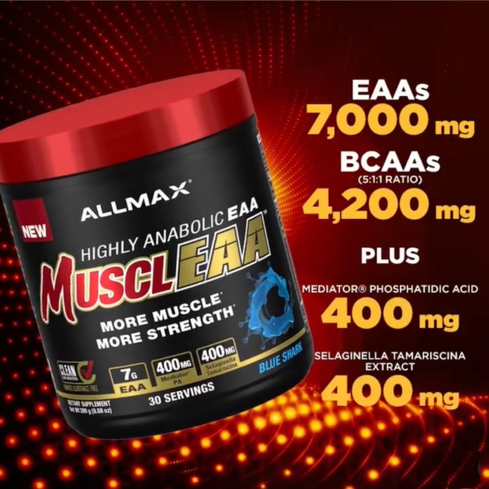 Allmax Nutrition Drops All New MusclEAA EAA Supplement