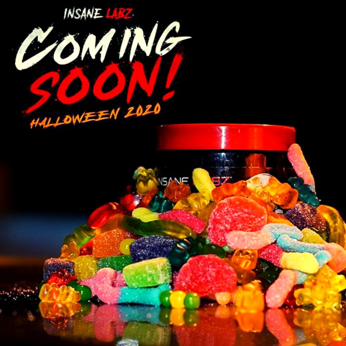 Does Insane Labz Have a Gummy Candy Supplement in Store for Halloween?