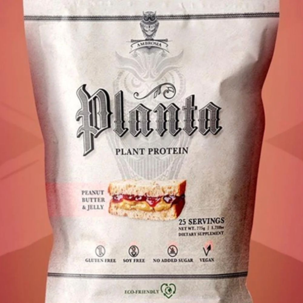 Ambrosia Collective Brings New Peanut Butter & Jelly Flavor to Planta Plant Based Protein