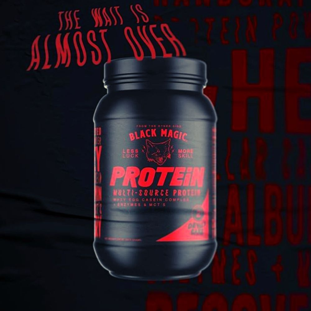 Black Magic Supplements Rolling Out a Limited Edition Devils Cake Protein for Halloween