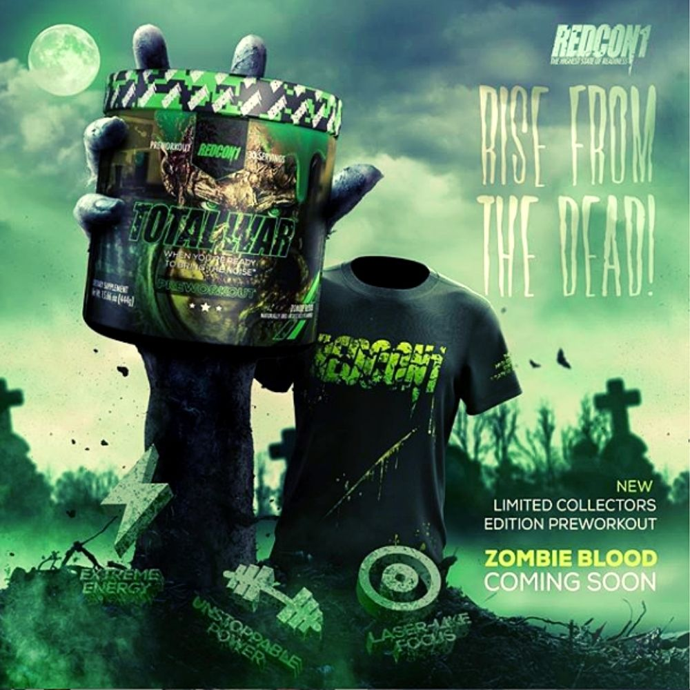 "Redcon1 Launching ""Zombie Blood"" Special Edition Halloween Total War Flavor"