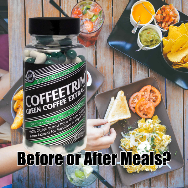 Green Coffee Bean Extract Before Or After Meals