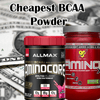 Cheapest BCAA Powders