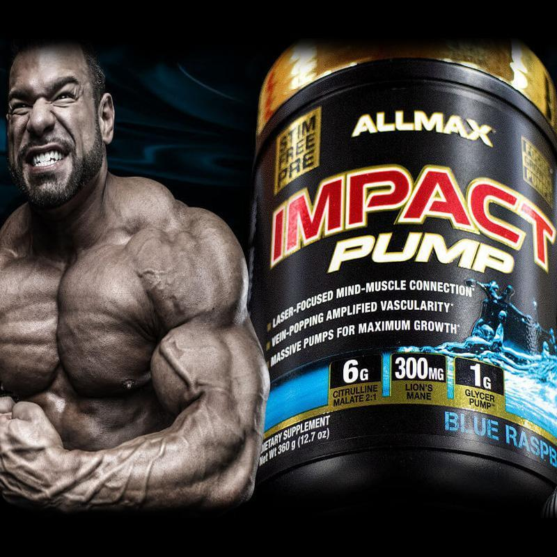 Allmax Impact Pump - All New From Allmax Nutrition