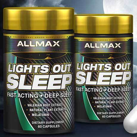 Lights Out Sleep Coming from Allmax Nutrition