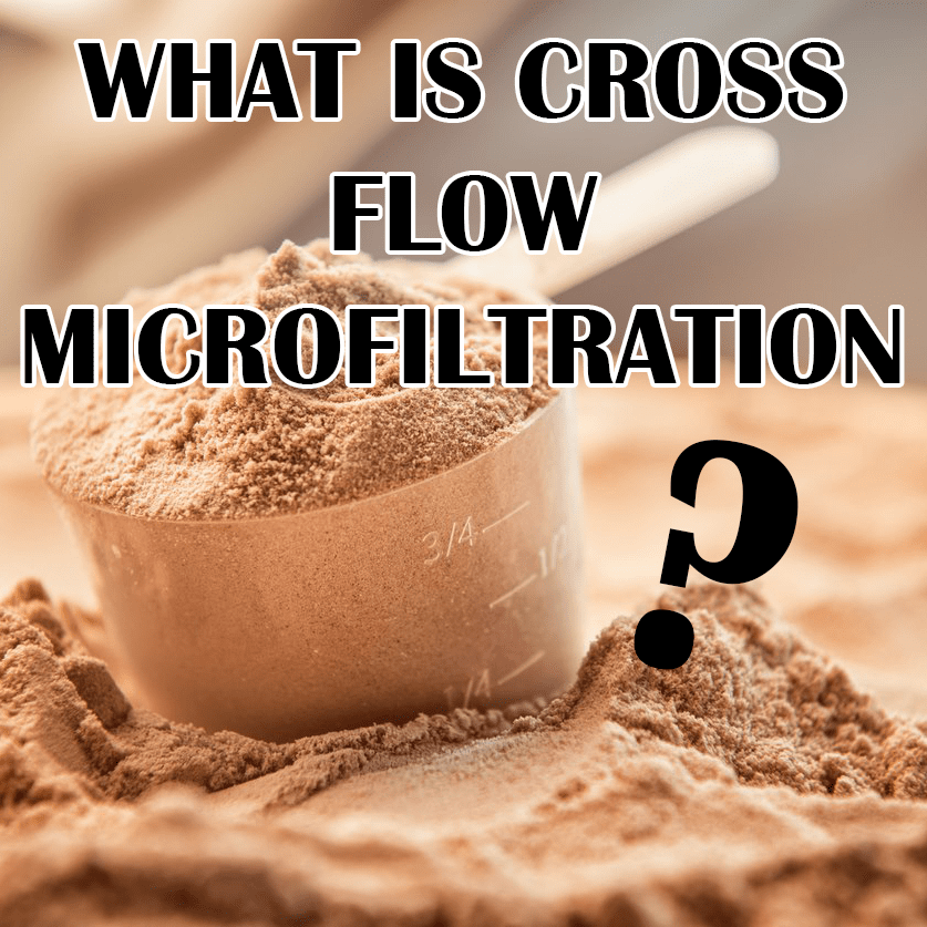 Cross Flow Microfiltration Whey