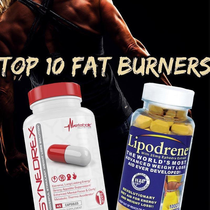 Review: 2017-2018 Top 10 Best Fat Burners Supplements