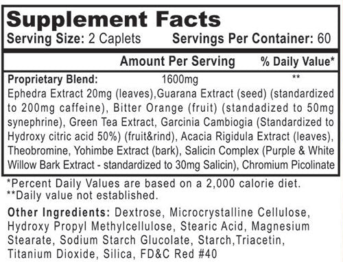 HydroxySlim Ingredients