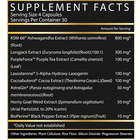 Inspired Nutra LGND Ingredients