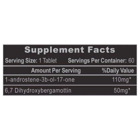 1Testosterone Supplement Facts
