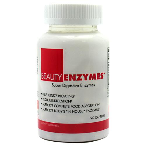 BeautyFit Sports Nutrition & More BeautyFit BeautyEnzymes 90 Caps (581695733804)