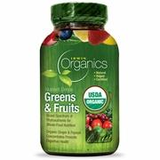 Irwin Naturals Vitamins, Minerals, Herbs & More Irwin Naturals Organic Nutrient-Dense Greens and Fruits 60 Tabs (581167874092)