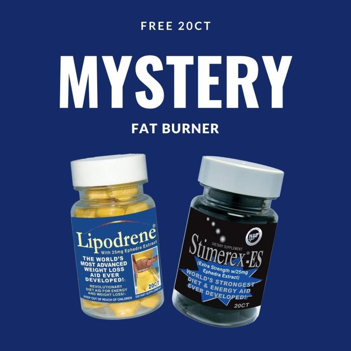 Best Price Nutrition Free Mystery 20ct Fat Burner (4504167415923)