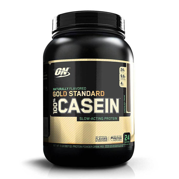 Optimum Nutrition Sports Nutrition & More Chocolate Creme Optimum Nutrition 100% Natural Casein 2 Lbs (581101223980)