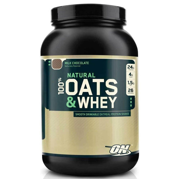 Optimum Nutrition Sports Nutrition & More Milk Chocolate Optimum Nutrition Natural Oats & Whey 3 Lbs (580931518508)