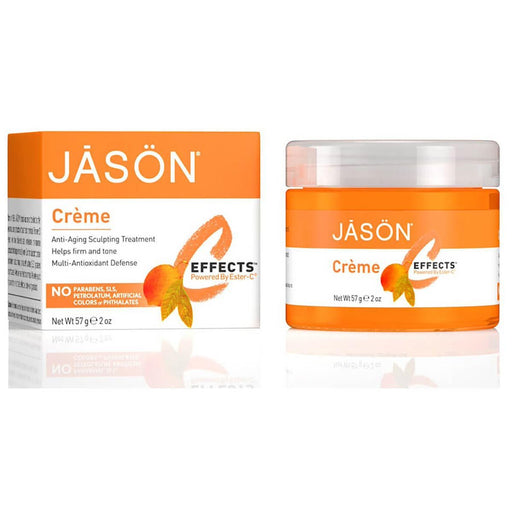 Jason Vitamins, Minerals, Herbs & More Jason Topical Ester C (Ascorbic Acid) & E Cream 2 oz (580545577004)