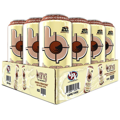 VPX Drinks Cookies and Cream Craze VPX Bang Keto Coffee 12/Case (3945967091756)