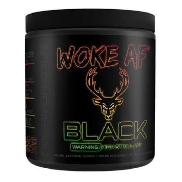 Bucked Up Sports Performance Recovery Island Fusion Bucked Up Woke AF BLACK 30 Servings (4325412733043)