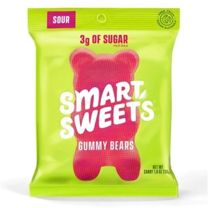 Smart Sweets Foods Juices Sour Smart Sweets Gummies Individual (4336863576179)