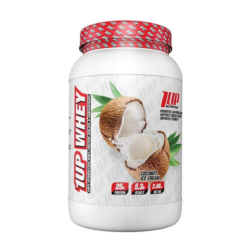 1Up Nutrition Sports Nutrition & More Coconut Ice Cream 1Up Nutrition 1Up Whey 2 Lbs (582497959980)