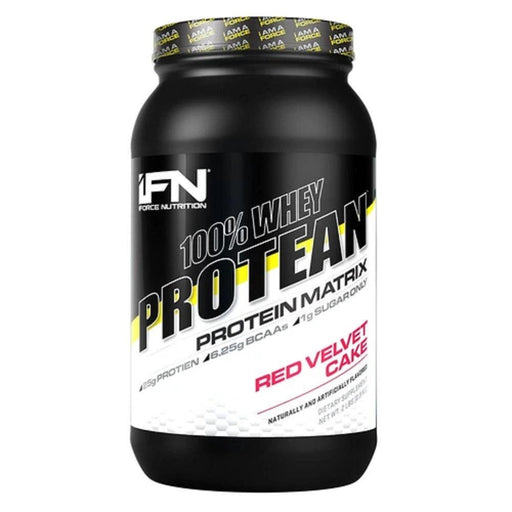 IFORCE Protein Powders Red Velvet Cake IFORCE Nutrition 100% Whey Protean Protein Matrix 2Lbs | 25g Protein | Lean Muscle (1731389227052)
