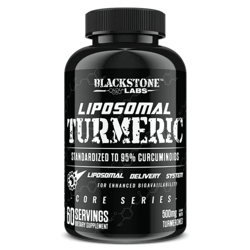 Blackstone Labs Herbs Blackstone Labs Liposomal Turmeric 60 Servings (4604667199603)