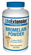 Life Extension Vitamins, Minerals, Herbs & More Life Extension Bromelain 100 grams