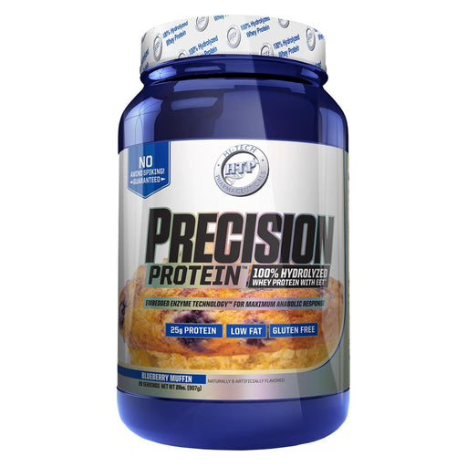 Hi-Tech Pharmaceuticals Sports Nutrition & More Blueberry Muffin Hi-Tech Pharmaceuticals Precision Protein 2lbs (582570770476)