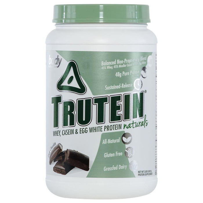 Body Nutrition Sports Nutrition & More Dark Chocolate Body Nutrition Trutein Naturals 2 Lbs (582478135340)