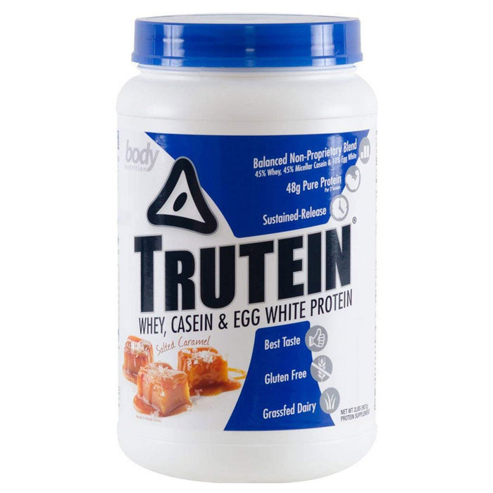 Body Nutrition Top 50 Salted Caramel Body Nutrition Trutein 2 Lbs (581258084396)