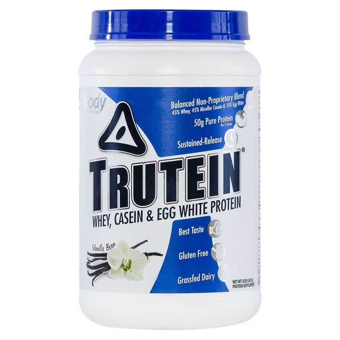 Body Nutrition Top 50 Vanilla Bean Body Nutrition Trutein 2 Lbs (581258084396)