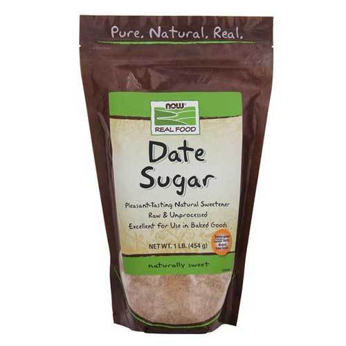 Now Foods Vitamins, Minerals, Herbs & More Now Foods Date Sugar 1 Lb (582318456876)