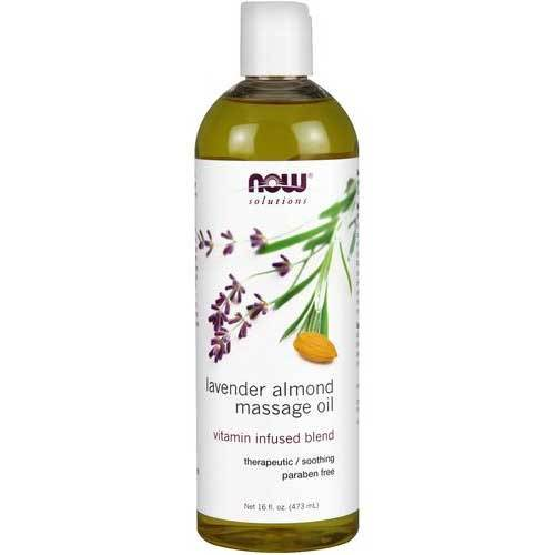 Now Foods Vitamins, Minerals, Herbs & More Now Foods Lavender Almond Massage Oil 16 Fl Oz (582243942444)
