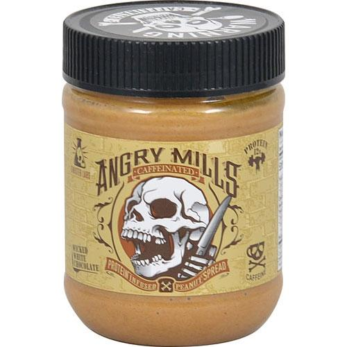 Sinister Labs Sports Nutrition & More Sinister Labs Angry Mills Peanut Spread 12oz (582642303020)