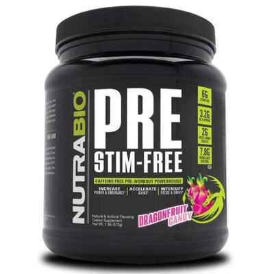 NutraBio Pre Extreme 20/Servings DragonFruit Candy (4380745039987)
