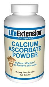 Life Extension Vitamins, Minerals, Herbs & More Life Extension Calcium Ascorbate 300 grams (581089427500)