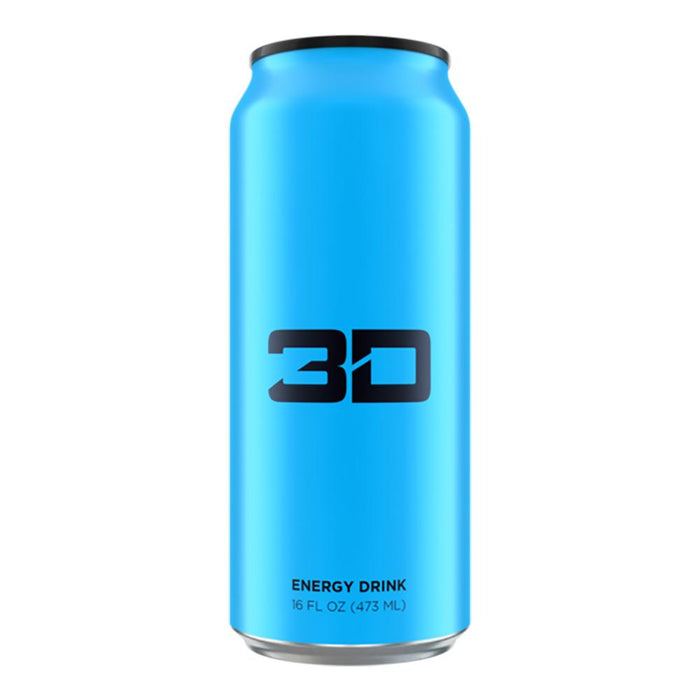 UP ENERGY Drinks BLUE 3D Energy Drink 12/Case (1497226051628)