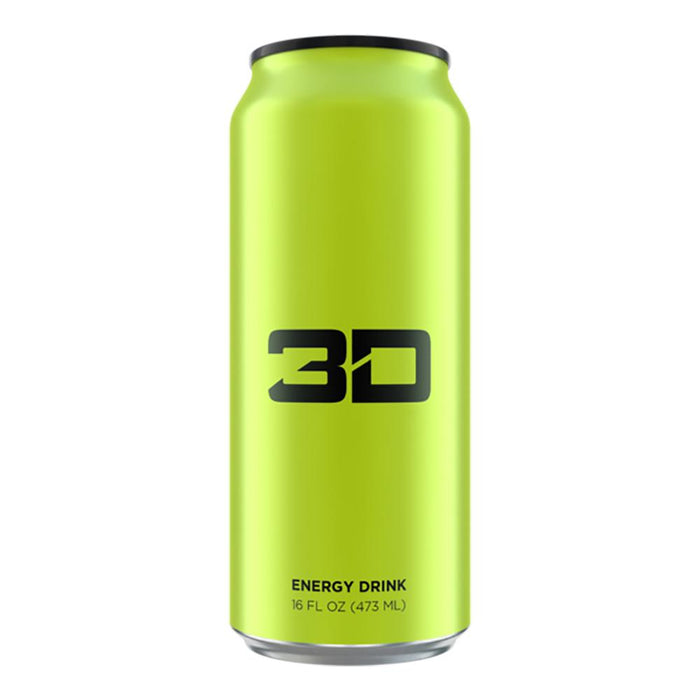 UP ENERGY Drinks YELLOW 3D Energy Drink 12/Case (1497226051628)