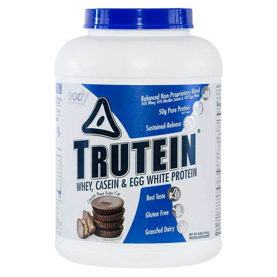 Body Nutrition Top 50 Chocolate-Peanut Butter Cup Body Nutrition Trutein 4 Lbs (581255594028)