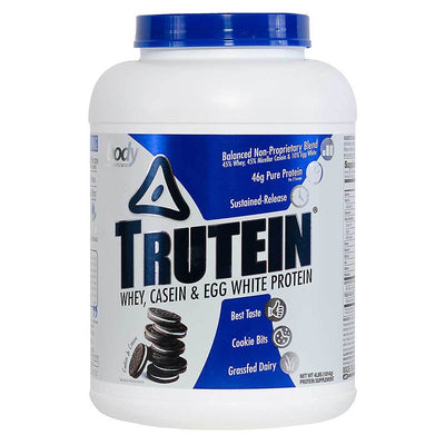Body Nutrition Top 50 Cookies & Cream Body Nutrition Trutein 4 Lbs (581255594028)