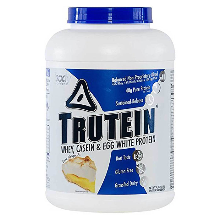 Body Nutrition Top 50 Lemon Meringue Pie Body Nutrition Trutein 4 Lbs (581255594028)