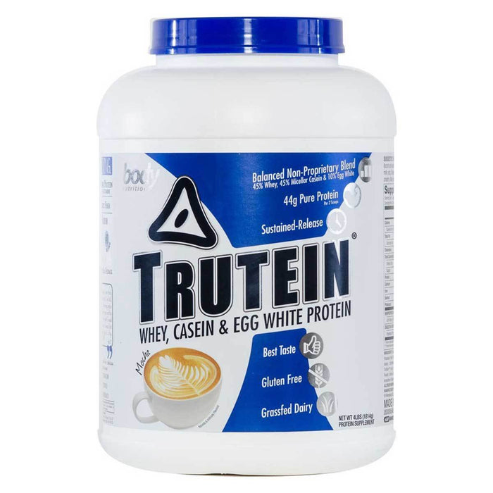 Body Nutrition Top 50 Mocha Body Nutrition Trutein 4 Lbs (581255594028)
