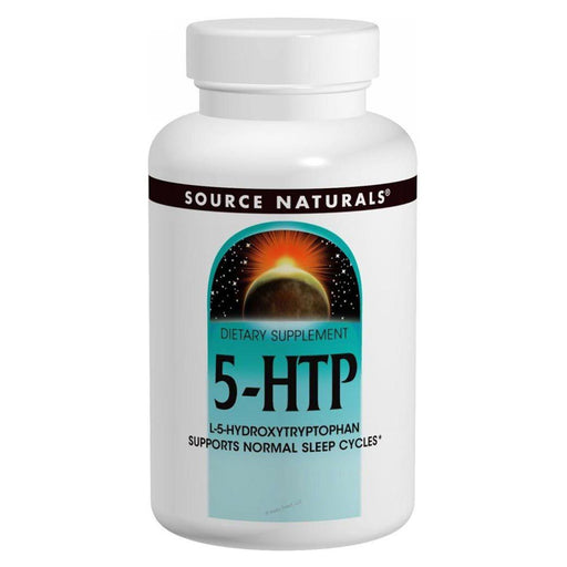 Source Naturals Vitamins, Minerals, Herbs & More Source Naturals 5-HTP 50mg 120 Caps (581596545068)